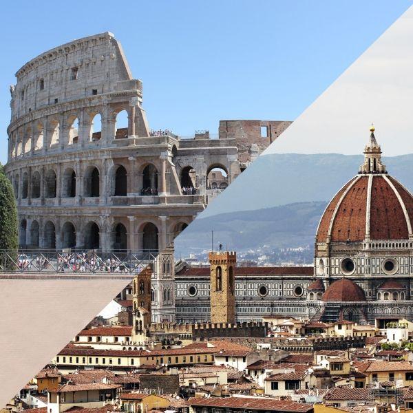 Roma + Florencia